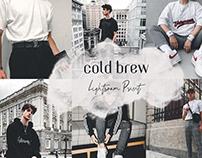 Cold Brew Lightroom Preset