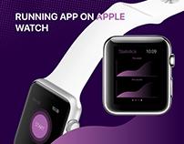 Running App on Apple Watch
