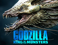 Godzilla: King of the Monsters - Creature Designs