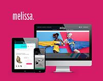MELIISSA SHOES Web Design
