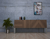 enclose sideboard