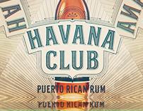 Havana Club Miami anniversary event display