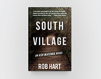 South Village Book Cover Design