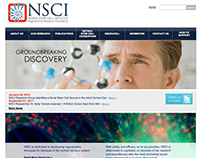 Neural Stem Cell Institute Website