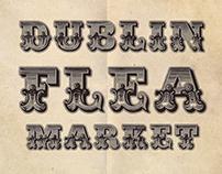 Dublin Flea Market Poster March 2013