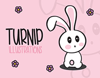 Turnip - Character design and illustrations