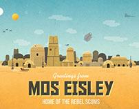Mos Eisley postcard