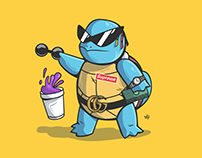 Squirtle Illustration