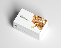 Free Slider Box Mockup