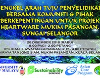 Banner Bengkel Arah Tuju Penyelidikan Projek Heartware