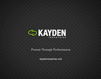 Kayden Industries: Corporate Overview & Desludging