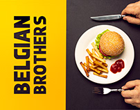 Belgian Brothers Food Branding