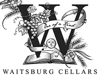 Waitsburg Cellars Label Illustration by Steven Noble