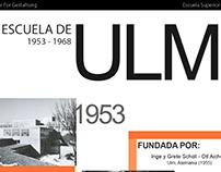 Escuela de ULM - Infografía
