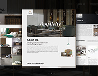 Oliviya Laminates Website Design