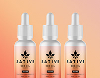 Sative CBD - Brand Identity