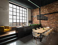 STUDIO LOFT - interior design / 2016