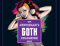 The Gentleman's GOTH Colouring Book