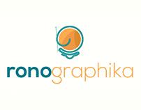 Experiment: Ronographika Brand Identity