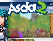 Antigo website Asda2