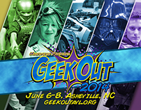 GeekOut Branding and Logo