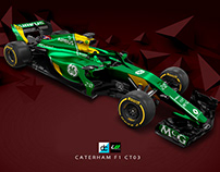 Re:Imagined - Caterham F1 CT03 Livery