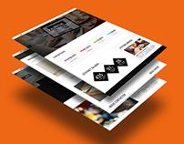 Stepnet Refont en responsive design (2014)