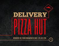 Imã de Geladeira Delivery Pizza Hut