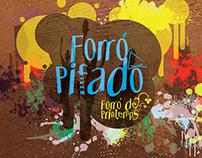 Projeto Gráfico CD Forró Pifado - França/BR