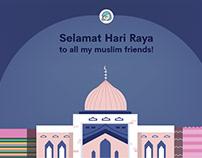 Hari Raya Celebration Visual