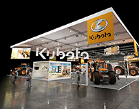 Kubota Booth | Many Shows | Interior