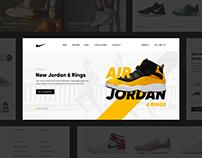 Nike - Online store
