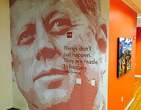 Destination DC Office Murals