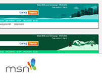 Festive and Seasonal Theme Designs for MSN Global