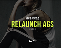 NIKE   Nike Running, Nike Trainning Concepting