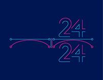 Hackathon 24/24 logotype