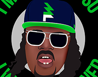 Marshawn Lynch | Illustration for Fun