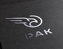 PAK - logo design