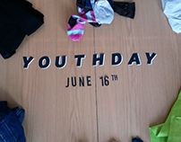 Youth Day Stop frame animation