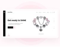Pandora Shop Redesign Concept