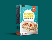 Good Morning Oats Packaging Design
