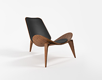 Моделирование и предметная визуализация стула