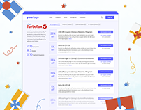 Coupon Website Template | FREE Figma