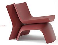 """""""Superglue"""" chair"""