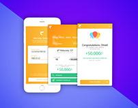 Loan App - Few of the screens from get a loan online