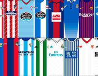 Guía de camisetas La Liga