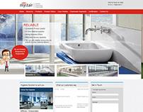 Web design & development for Mystair Hygiene