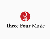 Three Four Music Shopping Bag
