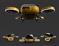 NYC Drone Taxi