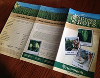 Green Hops ordering form and brochure.  2014